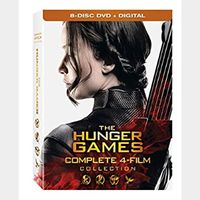 The Hunger Games 4-Film Collection SD VUDU