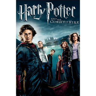 Harry Potter and the Goblet of Fire 4K Vudu / MoviesAnywhere