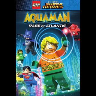 LEGO DC Super Heroes - Aquaman: Rage Of Atlantis HD VUDU / Movies Anywhere