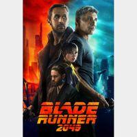 Blade Runner 2049 4K Vudu / MoviesAnywhere