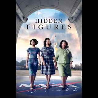 Hidden Figures HD Vudu / MoviesAnywhere / iTunes