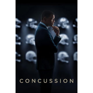 Concussion SD Vudu / MoviesAnywhere