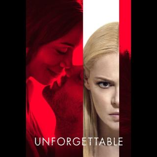 Unforgettable HD Vudu / MoviesAnywhere