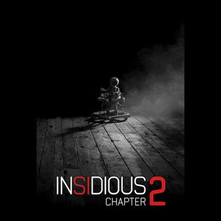 Insidious: Chapter 2 SD Vudu / MoviesAnywhere