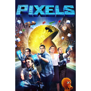 Pixels SD Vudu / MoviesAnywhere