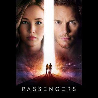 Passengers HD Vudu / MoviesAnywhere