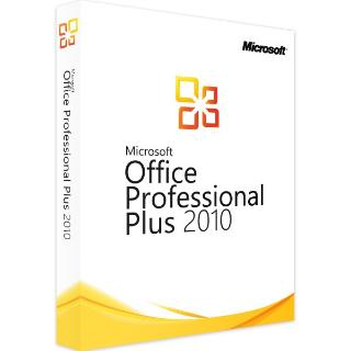 Office 2010 Professional Plus Key ACtivation 32/64 Bit Genuine