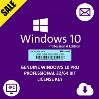 ✅ Microsoft Windows 10 Pro Retail License Key