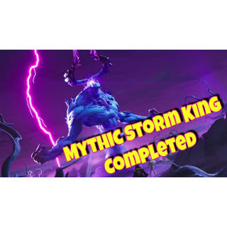I will Defeat Mythic Storm King