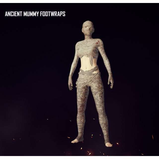 PUBG | ANCIENT MUMMY SET - PlayerUnknown's