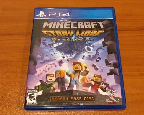 Minecraft Story Mode Season Disc Ps4 Games Good Gameflip