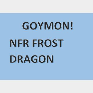Pet   NFR FROST DRAGON