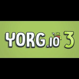 🔥 YORG.io 3 | 𝐈𝐍𝐒𝐓𝐀𝐍𝐓 | Steam Key GLOBAL