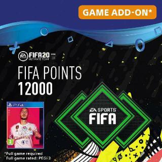 FIFA 12000 POINT PS4