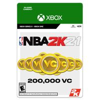 NBA 2K21 - 200 000 VC - XBOX ONE - INSTANT DELIVERY