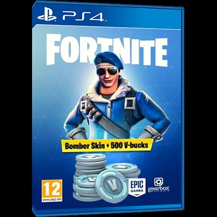 Fortnite Royale Bomber Skin Code 500 V Bucks Ps4 Other