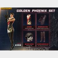 PUBG | Golden Phoenix Set