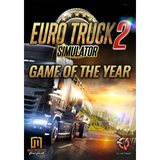 Euro Truck Simulator 2 GOTY Edition Steam Key GLOBAL