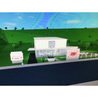 I will Build a cafe for you in roblox bloxburg just give me a budget