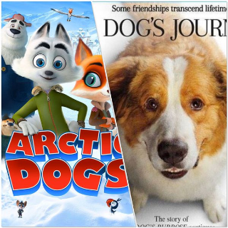 Arctic Dogs & A Dog's Jouney 2 Movies Double Feature - For Vudu Only