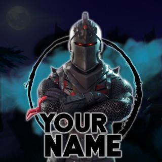 I will do a custom fortnite logo