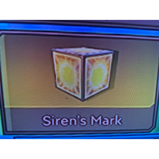 Borderlands 3; Siren's Mark weapon trinket