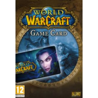 World of Warcraft Time Card 30 Days NORTH AMERICA Blizzard