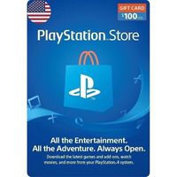 $100 PSN USA instant