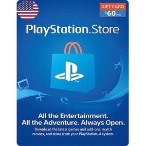 PSN 60$ United states Instant