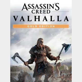 Assassin's Creed Valhalla: Gold Edition (Usable on Current/Next Gen Consoles)