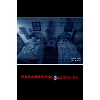 Paranormal Activity 3 (itunes code)