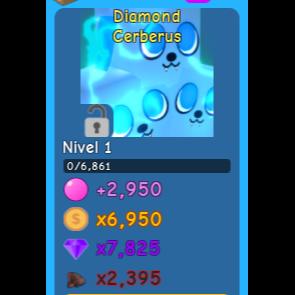 Pet | 5x Diamond Cerberus