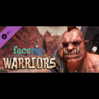 FaceRig Warriors (DLC) - Steam key GLOBAL