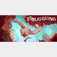 STRUGGLING - Steam key GLOBAL