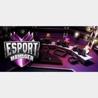 ESport Manager - Steam key GLOBAL