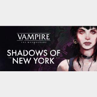 VAMPIRE THE MASQUERADE - SHADOWS OF NEW YORK - Steam key GLOBAL