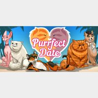 Purrfect Date - Visual Novel/Dating Simulator - Steam key  GLOBAL