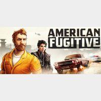 AMERICAN FUGITIVE - Steam key GLOBAL