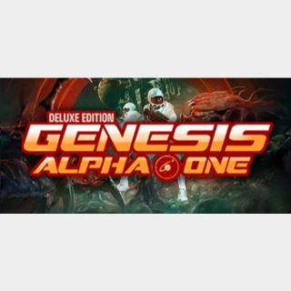 Genesis Alpha One Deluxe Edition - Steam key GLOBAL