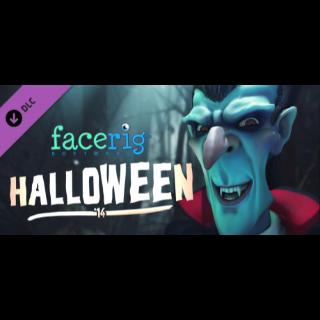 FaceRig Halloween Avatars 2014 (DLC) - Steam key GLOBAL
