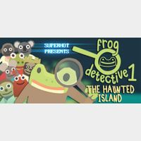 THE HAUNTED ISLAND, A FROG DETECTIVE GAME - Steam key GLOBAL