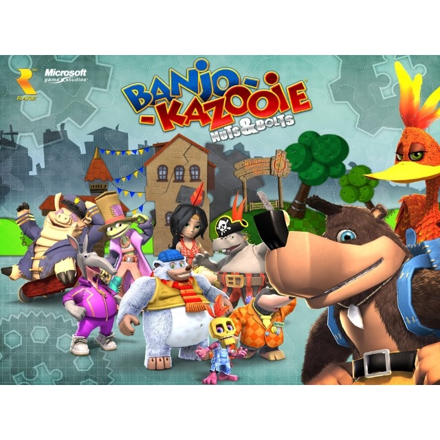 Banjo-Kazooie Nuts and Bolts Xbox 360/Xbox One