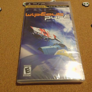 Wipeout Pure - Sony PSP New/Sealed