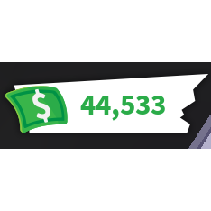 Other Adopt Me Cash 44 533 In Game Items Gameflip