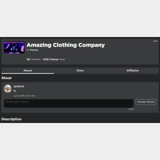 Other | Clothing Group w Store
