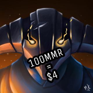 I will Boost 100MMR for $4 in 1000k -2000k bracket
