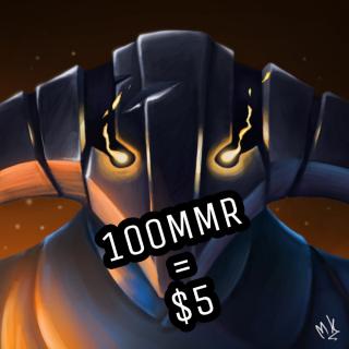 I will Boost 100MMR for $5 in 2000k -3000k bracket