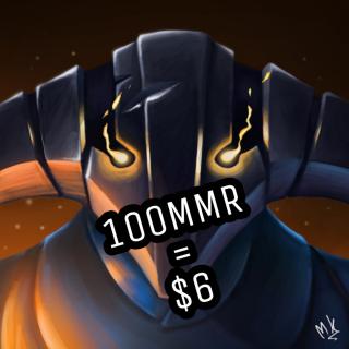 I will Boost 100MMR for $6 in 3000k -4000k bracket