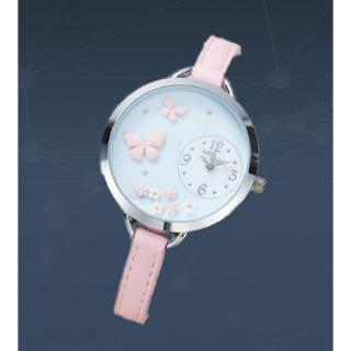 JEWELRY BUTTERFLY AND FLOWER WATCH