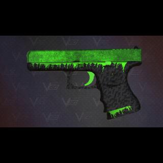 [VGO] Glock-18 | Toxificated (Minimal Wear)